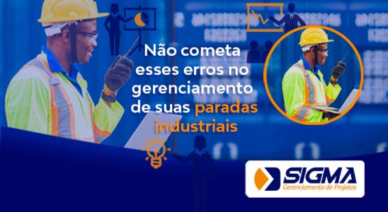 Erros no gerenciamento de plantas industriais